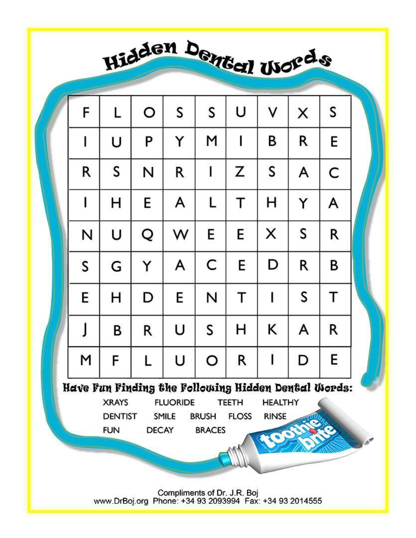 Hidden Words - Activity Sheets