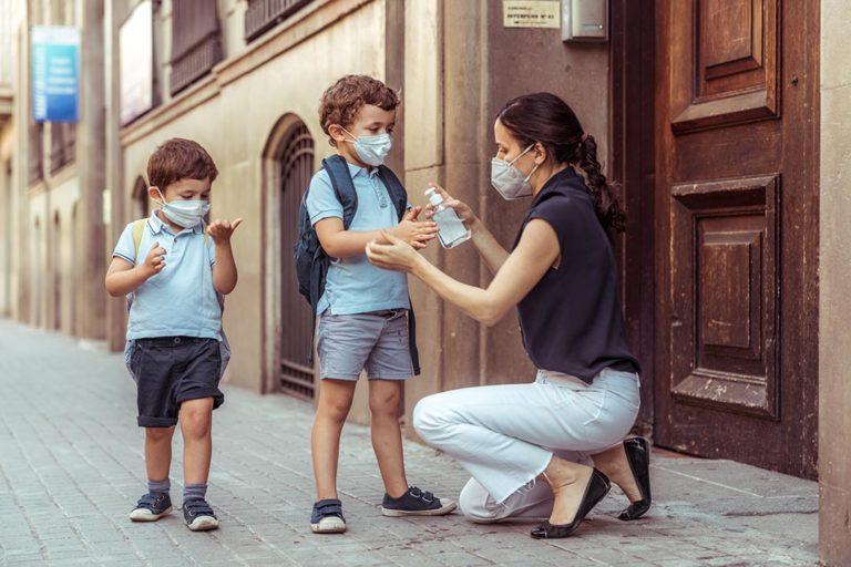 La mascarilla no provoca patologías bucodentales en niños