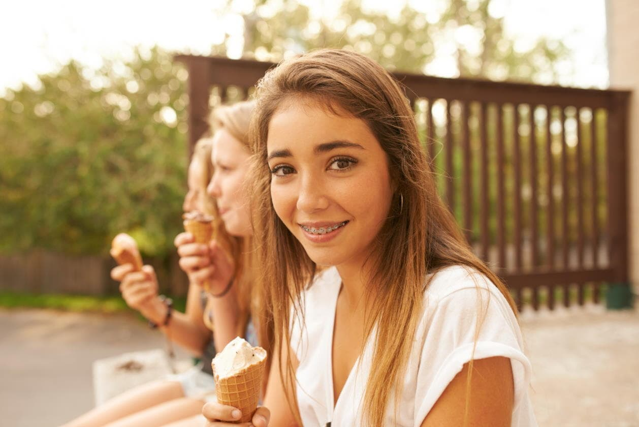 Braces for children and teenagers