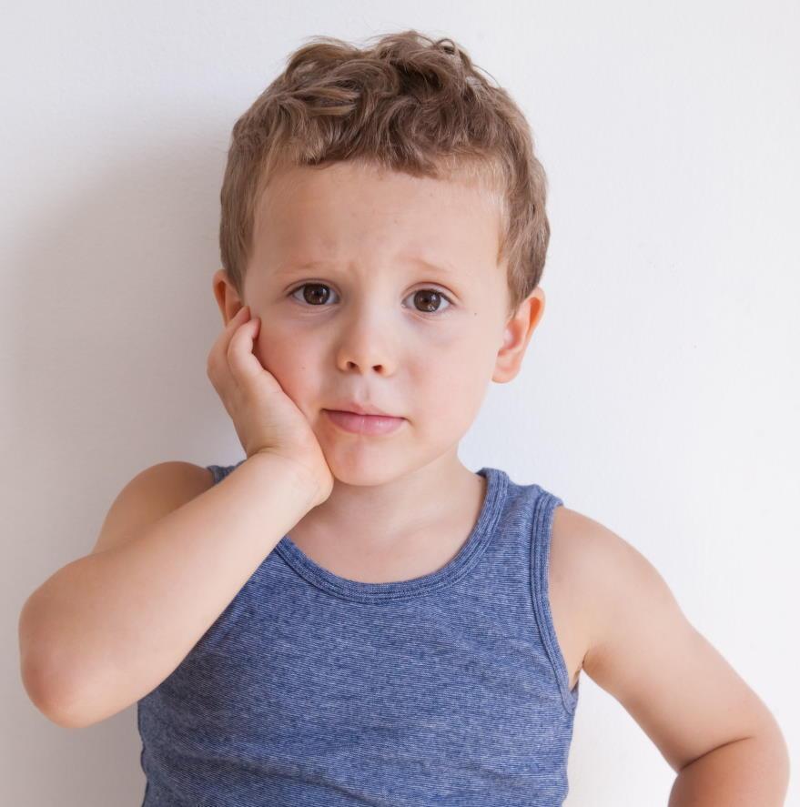 Dolor de queixal en nens i joves
