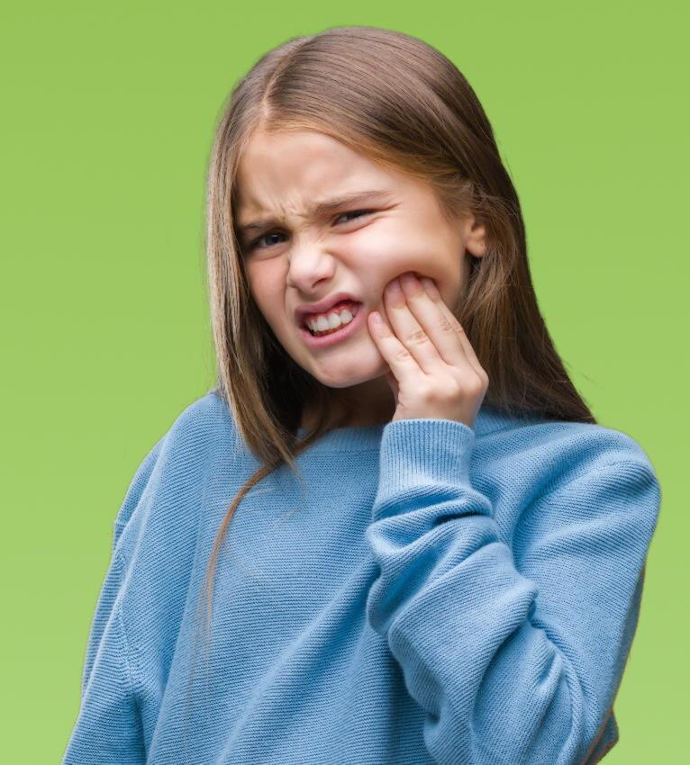Toothache in children