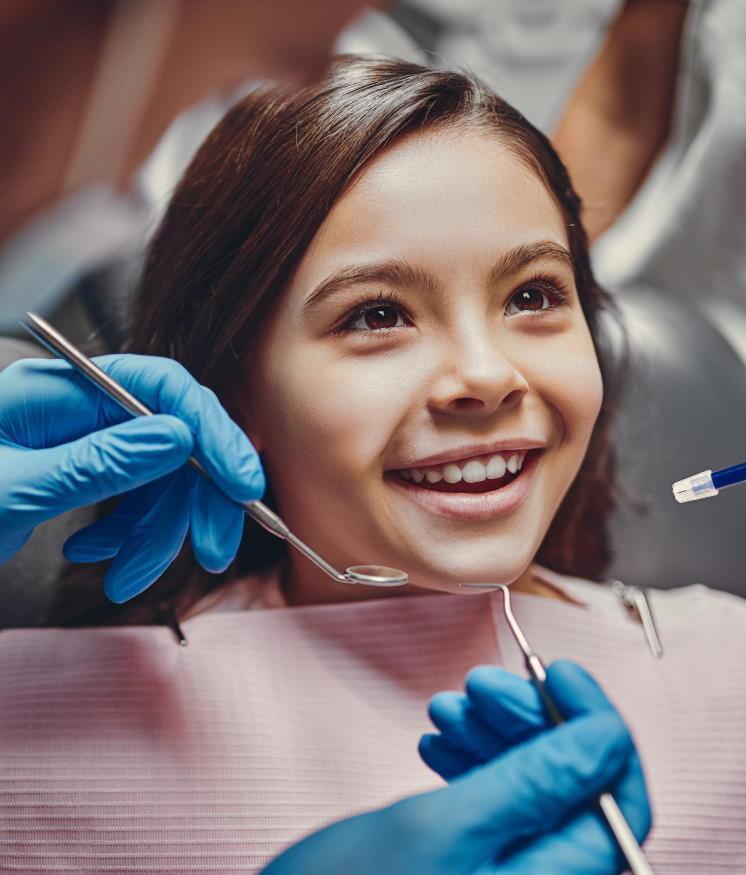 Extracció dental en nens