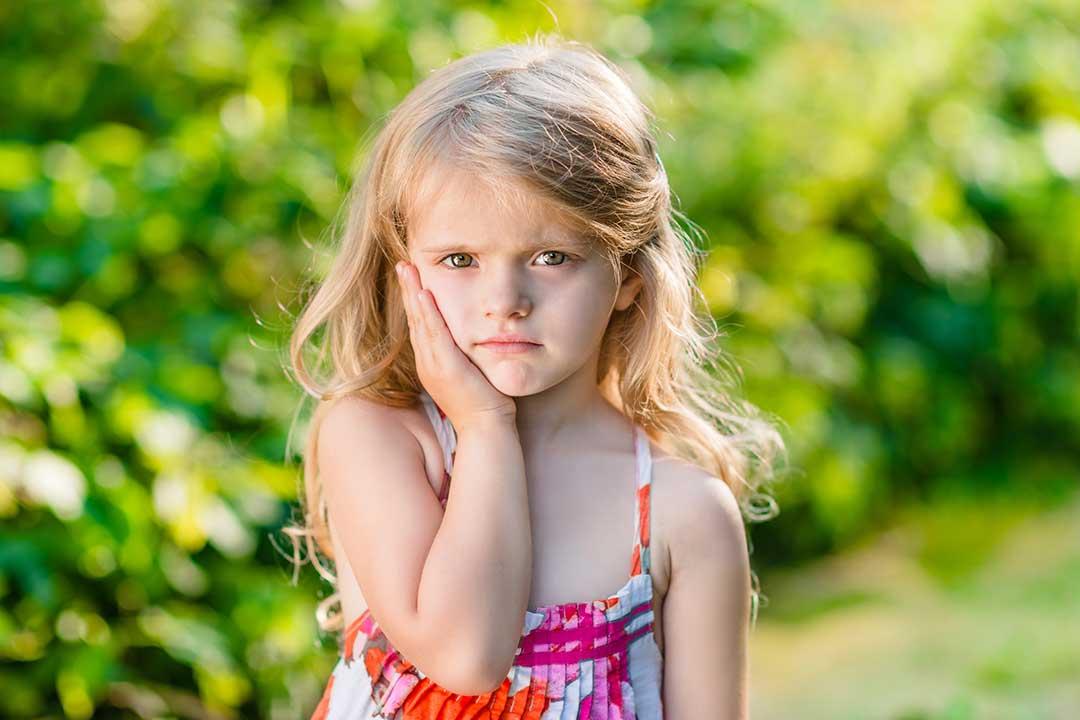 ¿Pueden presentar los niños hipersensibilidad en dientes sanos?